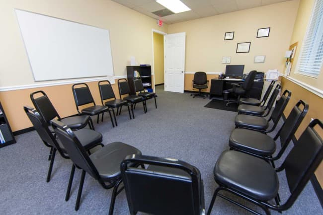 Recovery First meeting room