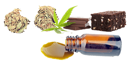 Edible Forms of Marijuana and Dabs
