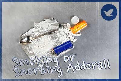 The Risks of Smoking or Snorting Adderall